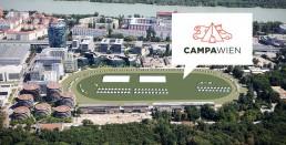 Campa Gelände Luftbild